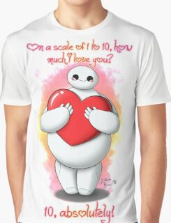 Baymax love you! - Happy Valentine's Day Graphic T-Shirt