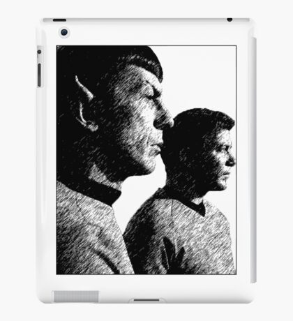 Spock&Kirk iPad Case/Skin
