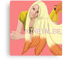 Ninetales - Pokemon Gijinka Canvas Print