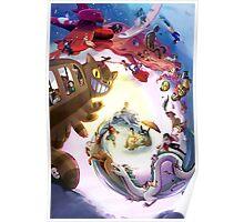 Escape to Ghibli Poster