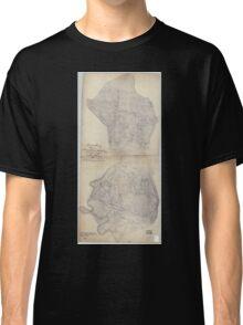 Civil War Maps 0487 Henrico County Virginia Classic T-Shirt