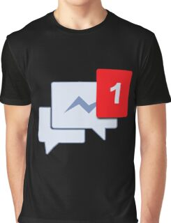 Facebook Chat Messages - Messenger  Graphic T-Shirt