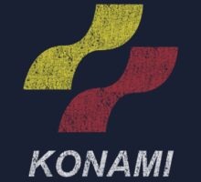 Konami Logo (Original - Distressed) by Winxamitosis