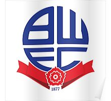 bolton wanderers logo Poster