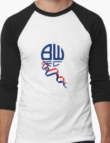 bolton logo Men's Baseball ¾ T-Shirt