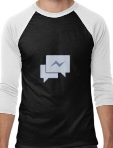 Facebook Chat Messages - Messenger  Men's Baseball ¾ T-Shirt
