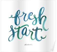Never Too Late to Start Fresh Poster