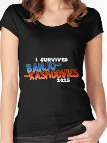 Banjo-KaSmoovies Women's Fitted Scoop T-Shirt