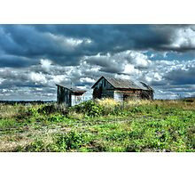 Old Outhouse Photographic Print
