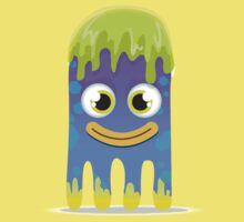 Cute Little Smiling Slimy Alien Monster!!! Kids Clothes