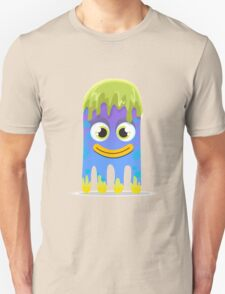 Cute Little Smiling Slimy Alien Monster!!! T-Shirt