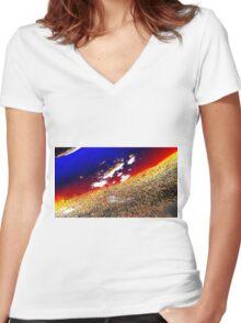 a billion Women's Fitted V-Neck T-Shirt