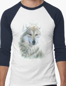 Wolf Men's Baseball ¾ T-Shirt