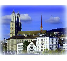 The Wonder of Zurich Photographic Print