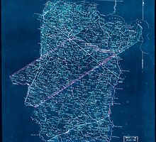Civil War Maps 0782 Map of Pr George Surry Sussex and Southampton counties Inverted by wetdryvac
