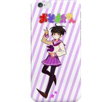 Ohayo! Ichimatsu Stickers, Cases & Notebooks iPhone Case/Skin