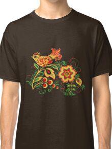 Khokhloma bird Classic T-Shirt