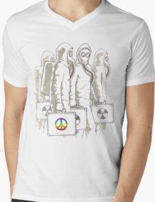 Radioactivist Mens V-Neck T-Shirt