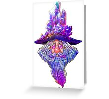 Crystal Wizard Greeting Card