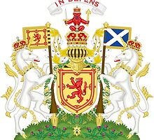 Royal Coat of Arms of Scotland  by abbeyz71