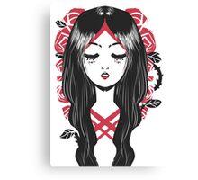 Una Rosa es una Rosa Canvas Print