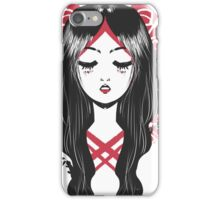 Una Rosa es una Rosa iPhone Case/Skin