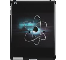 Metallic atom in space  iPad Case/Skin