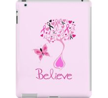 Believe - Breast Cancer Survivor iPad Case/Skin