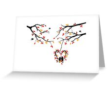cute birds #2 Greeting Card