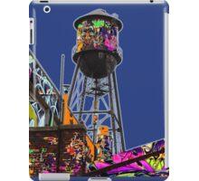 Water tower graffiti iPad Case/Skin