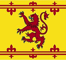 Royal Banner of Scotland  by abbeyz71