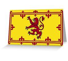 Royal Banner of Scotland  Greeting Card