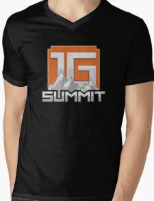 Summit1G Mens V-Neck T-Shirt