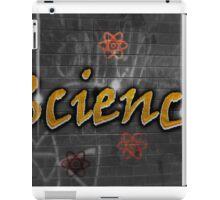 Science Graffiti on a wall  iPad Case/Skin