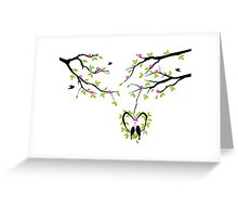 cute birds #4 Greeting Card