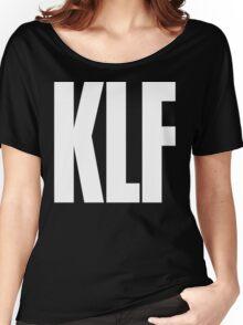 KLF Logo (White) Women's Relaxed Fit T-Shirt