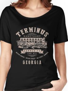 Terminus The Walking Dead Women's Relaxed Fit T-Shirt