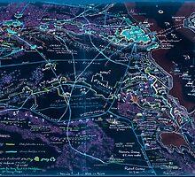 Civil War Maps 1593 Siege of Yorktown Virginia Inverted by wetdryvac