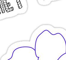 Crochet-Me-Knot Sticker