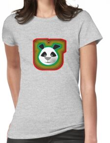 Funky Panda Womens Fitted T-Shirt