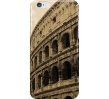 Rome - The Colosseum in sepia tones  iPhone Case/Skin