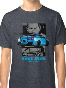 Paul Walker 02 Classic T-Shirt