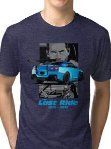 Paul Walker 02 Tri-blend T-Shirt