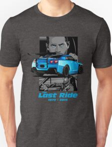 Paul Walker 02 Unisex T-Shirt