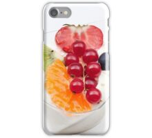 rice pudding from fruit iPhone Case/Skin