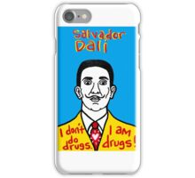 Salvador Dali Pop Folk Art iPhone Case/Skin