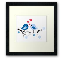 cute birds #8 Framed Print