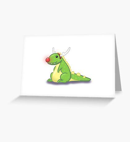 Rudolphasauras  Greeting Card
