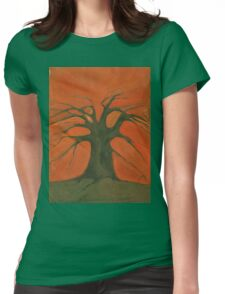 Beginning Of Life Womens Fitted T-Shirt