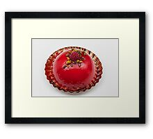 raspberry pie Framed Print
